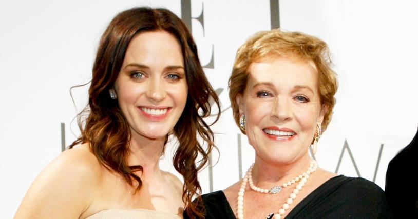 Emily Blunt e Julie Andrews, due generazioni di Mary Poppins