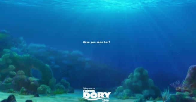 Il Poster di Alla Ricerca di Dory