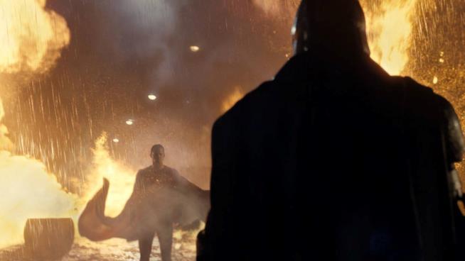 Una scena tratta da Batman v Superman: Dawn of Justice