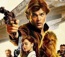 Il poster internazionale di Solo: A Star Wars Story