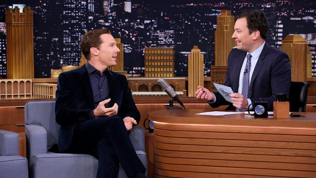 Benedict Cumberbatch ospite al The Tonight Show