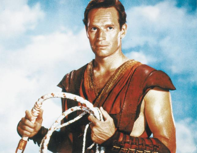 charlton heston nel film