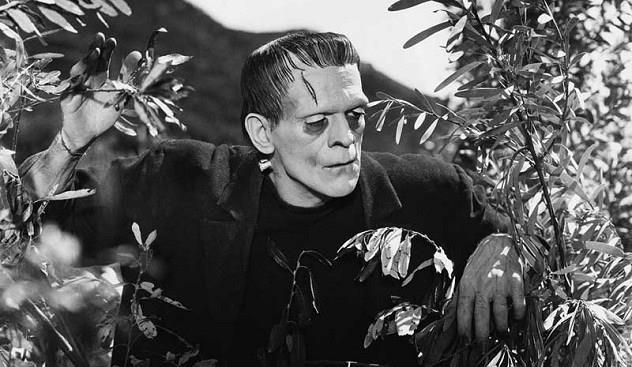 Boris Karloff in Frankenstein
