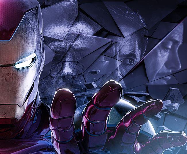 Poster di Avengers: Endgame dedicato ad Iron Man
