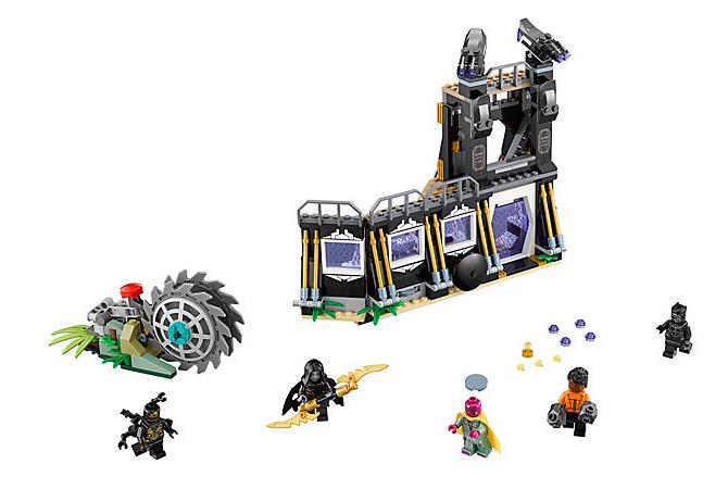 Dettagli del set L'attacco falciante di Corvus Glaive di LEGO