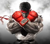 Ryu sulla cover di Street Fighter V