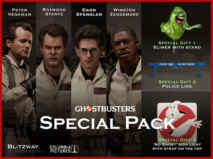 Lo Special Pack coi modellini dei Ghostbusters