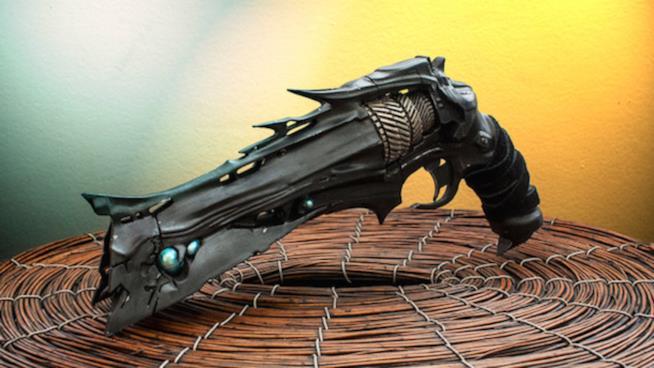 Una riproduzione con stampante 3D dell'Aculeo di Destiny