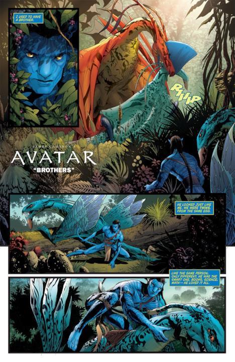 Titolo del fumetto di Avatar