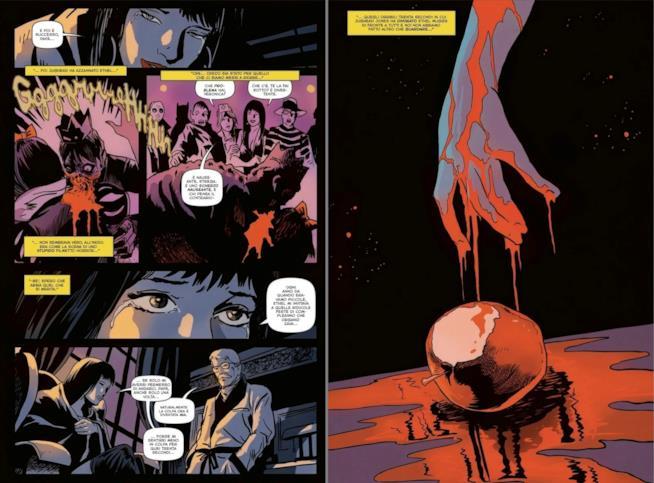 Due tavole tratte dal primo volume di Archie tra i Morti Viventi