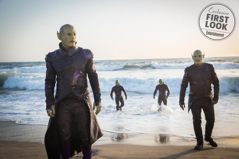 Prima immagine degli Skrull in Captain Marvel