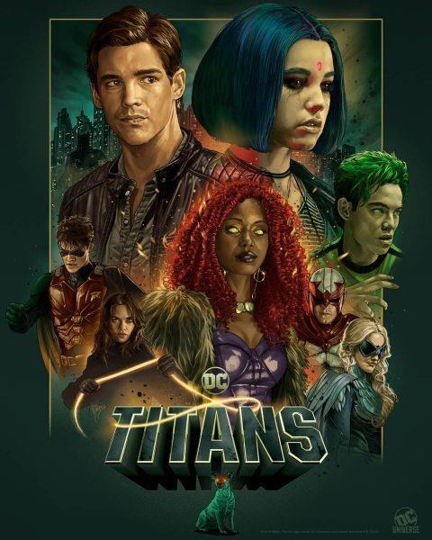 Titans: il poster della seconda stagione