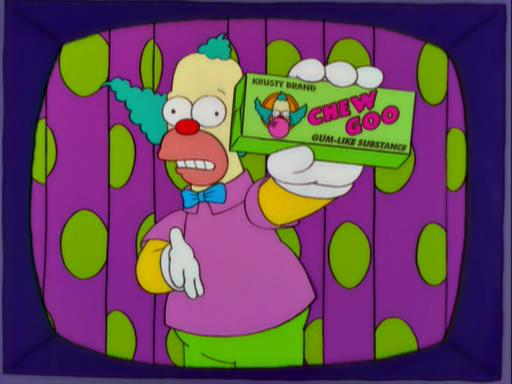 I Chew Goo di Krusty il Clown