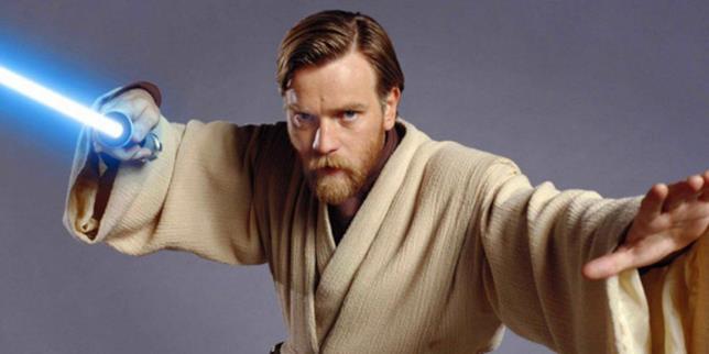 Ewan McGregor nei panni di Obi-Wan in Star Wars: Episodio II - L'attacco dei cloni