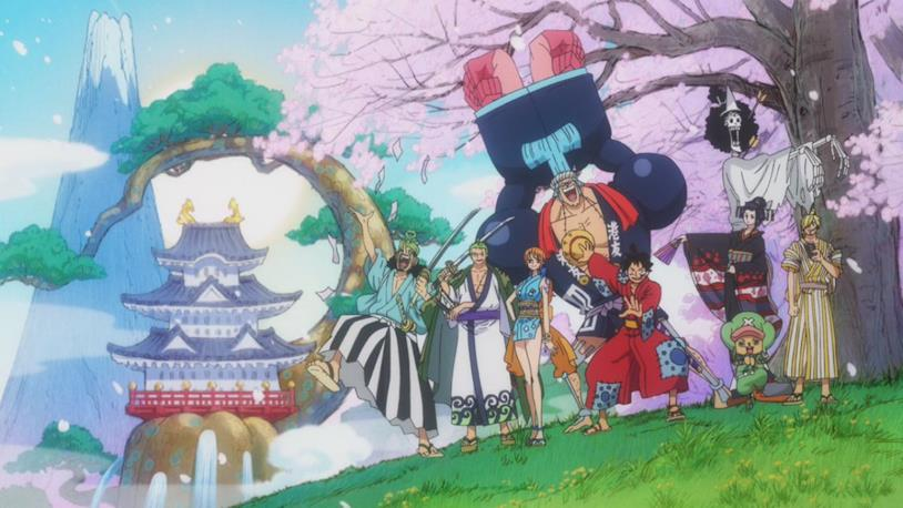 One Piece Rufy nel paese di Wa