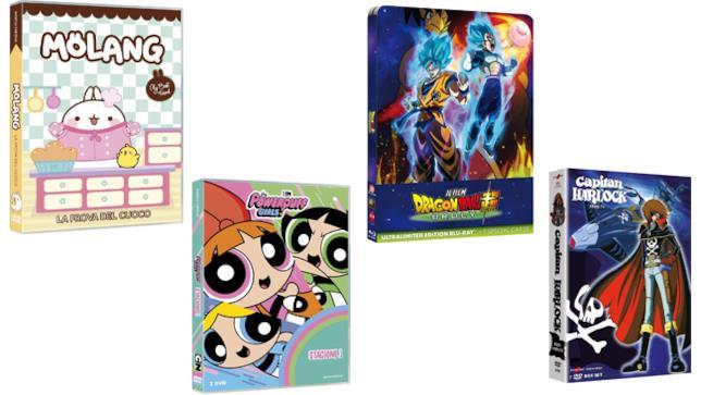 Anime e Animazione Koch Media - Home Video giugno 2019