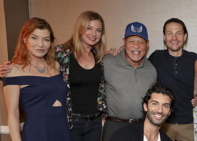 John Beasley durante la reunion del cast di Everwood