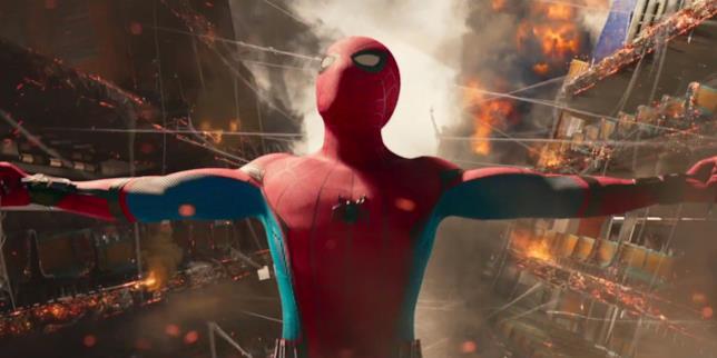 Una scena tratta da Spider-Man: Homecoming