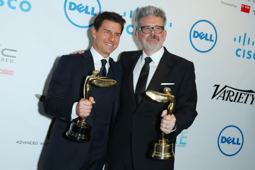 Christopher McQuarrie e Tom Cruise all'Annual Lumiere Awards