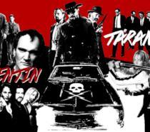 Una fan art dedicata ai migliori titoli di Tarantino