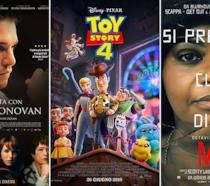 I poster di La mia vita con John F. Donovan, Toy Story 4, Ma