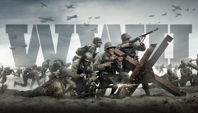 Un'immagine promozionale di Call of Duty: WWII