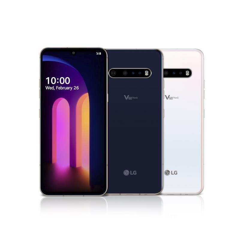 Immagine promozionale di LG V60 ThinQ 5G