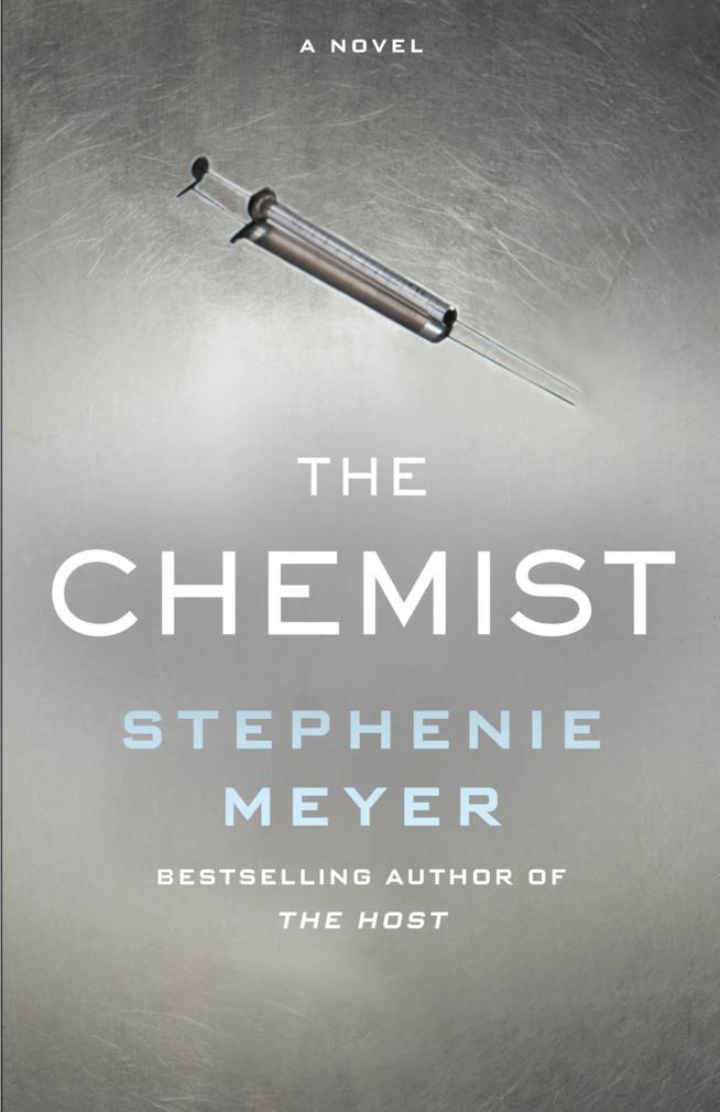 The Chemist, la copertina del nuovo thriller di Stephenie Meyer