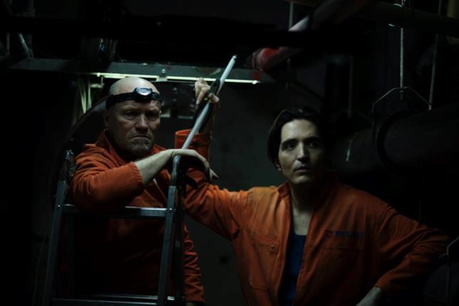 Una scena del thriller-horror The Belko Experiment