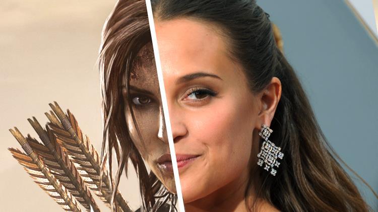 Alicia Vikander nel film reboot di Tomb Raider
