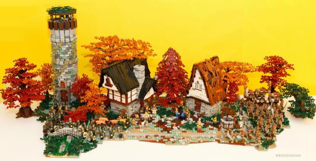 Realizzazione con i Lego di Cristiano Grassi