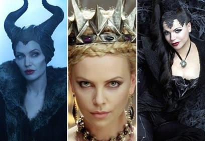 Le strege Angelina Jolie, Charlize Theron e Lana Parrilla
