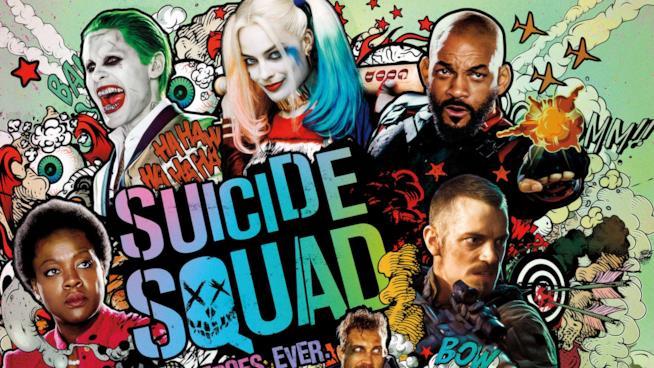 Locandina ufficiale di Suicide Squad