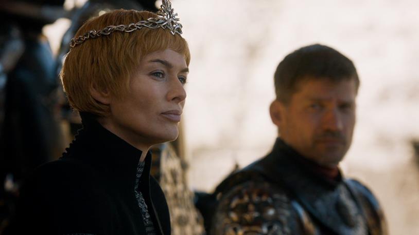 Cersei nervosa e Jaime turbato