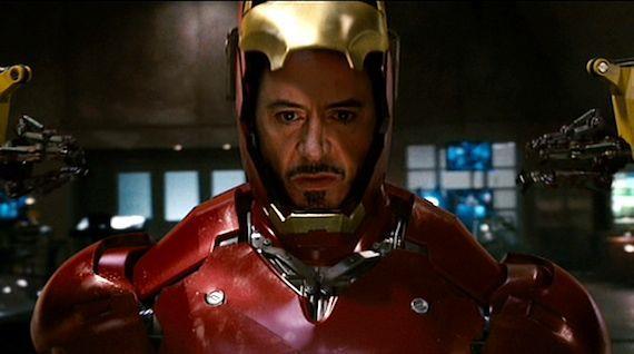 Robert Downey Jr è Iron Man