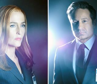 X-Files 11, poster protagonisti