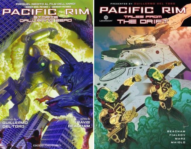 I primi due fumetti di Pacific Rim