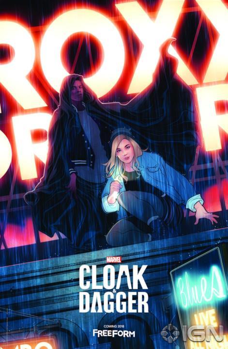La coppia Cloak & Dagger nel poster