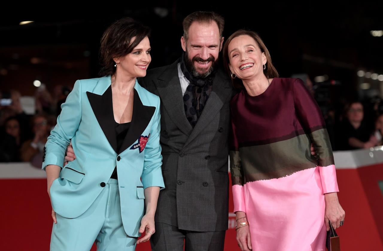 Juliette Binoche, Ralph Fiennes e Kristin Scott Thomas alla Festa del Cinema di Roma