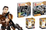Nuovi set di LEGO dedicati al film Solo: A Star Wars Story