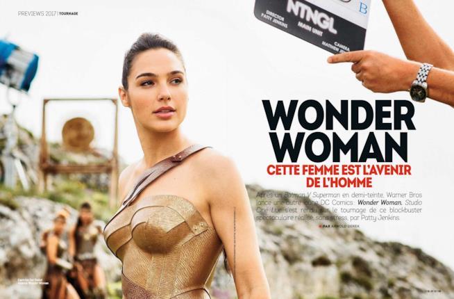 Gal Gadot è Wonder Woman nell'omonimo film del 2017