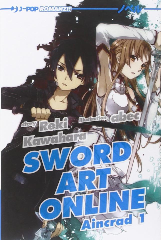 La copertina italiana di Sword Art Online: Aincrad 1