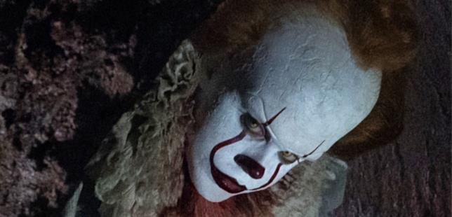 Pennywise in primo piano