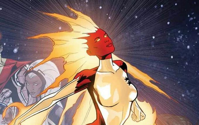 Carol Danvers come Binary nei fumetti Marvel