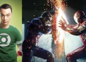 Roba da Nerd con The Big Bang Theory: Sheldon in piena Civil War con gli Avengers