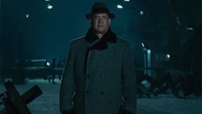 Tom Hanks in una scena del film Il ponte delle spie
