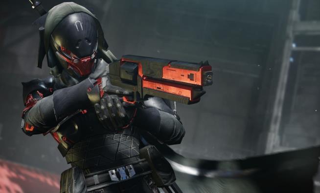 Una delle nuove armature introdotte in Destiny 2 con il DLC Armeria Nera