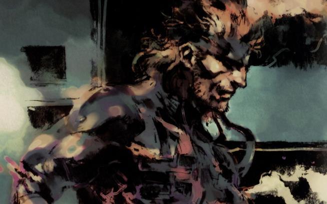 Un fan-artwork di Solid Snake