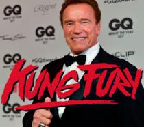Pollici in su per Arnold Schwarzenegger in Kung Fury