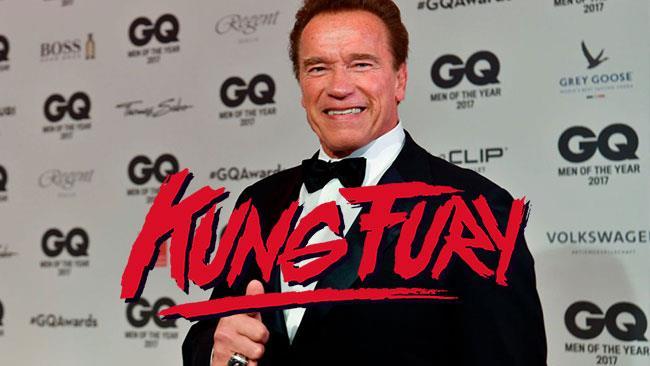 Kung Fury: Arnold Schwarzenegger affiancherà Michael Fassbender nel cast